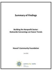 Building the Nonprofit Sector