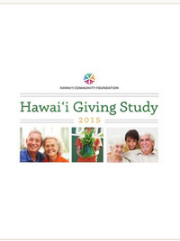 Hawaii Giving Study 2015