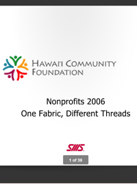 Nonprofit Industry Report 2006
