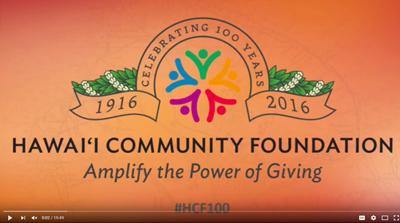 HCF Centennial Event--Kelvin Taketa Presentation