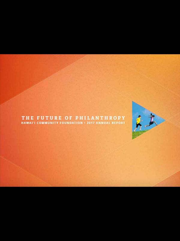 2017 The Future of Philanthropy