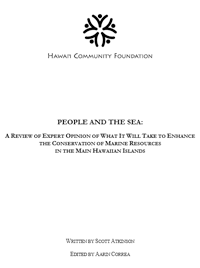 People and the Sea Report